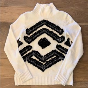 Loft 3D Embroidered Sweater XS